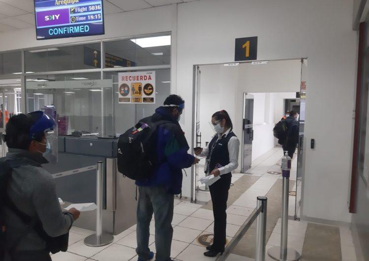 Perú: Aerolínea SKY reinició su ruta interregional Cusco-Arequipa