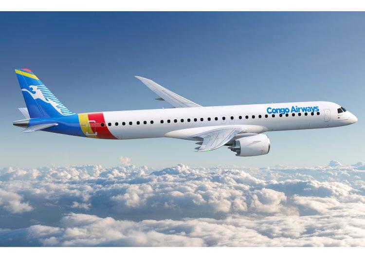 Congo Airways firma un acuerdo adicional con Embraer para dos E195-E2