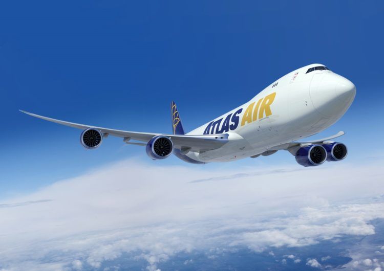 Atlas Air compra 4 B747-8 F