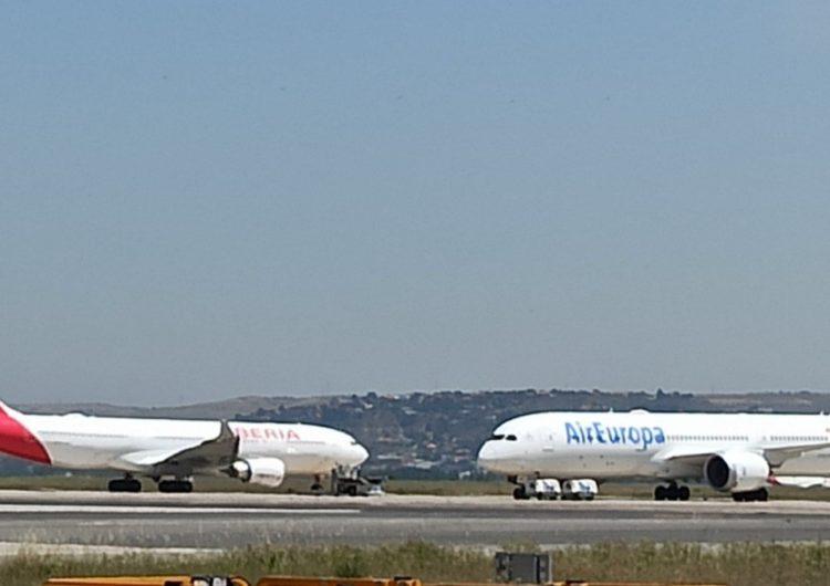 Iberia y Air Europa arrasan en Barajas en el largo radio