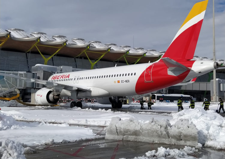 Iberia operará en los próximos dos días más del 80% de los vuelos de largo radio y más del 60% de los de corto y medio