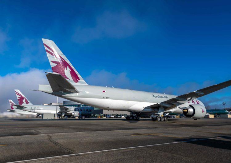 Qatar Airways Cargo recibe tres nuevos Boeing 777 Freighters