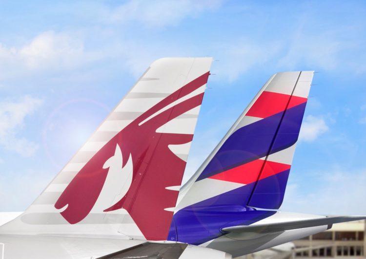 Qatar Airways aumenta frecuencias a San Pablo y amplía acuerdo de código compartido con LATAM Airlines Brasil