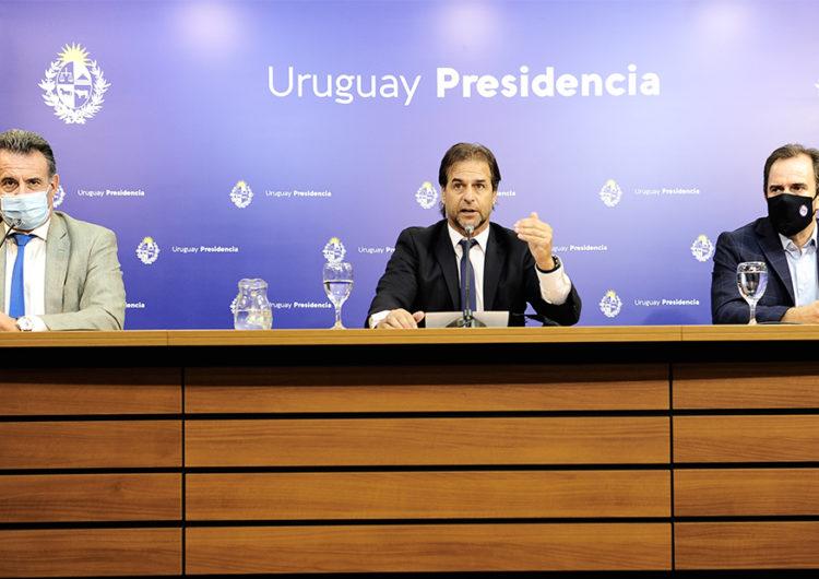 Uruguay seguirá con fronteras cerradas hasta el 30 de enero