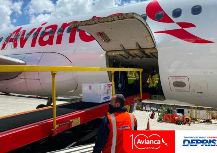 Deprisa y Avianca llevan vacunas a diferentes ciudades en Colombia