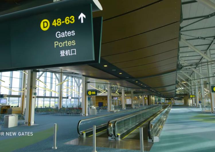 Concluyó ampliación del aeropuerto de Vancouver