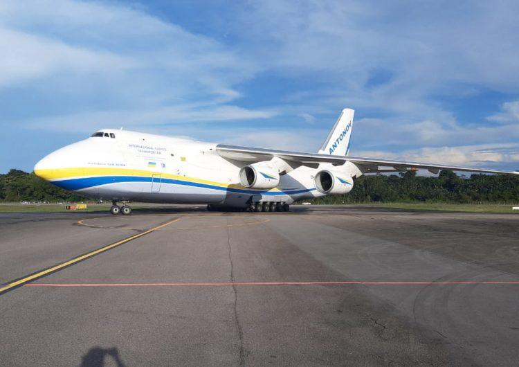 Belém recebe a segunda maior aeronave cargueiro do mundo