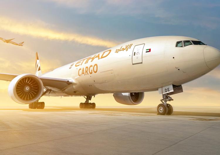 Etihad Cargo se une a la iniciativa de transporte aéreo humanitario de UNICEF