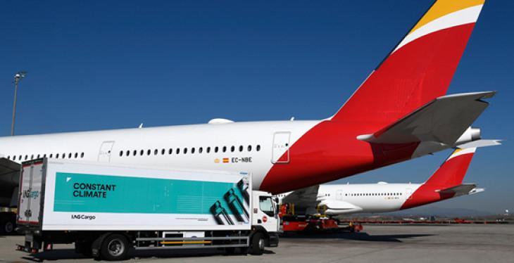 Iberia e IAG Cargo suman ya 20.000 envíos de productos farmacéuticos en su hub de Madrid
