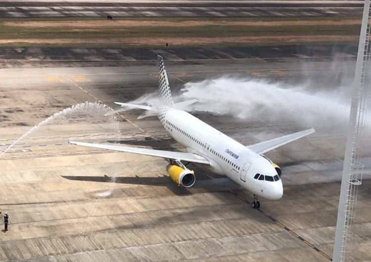 Primeira aeronave da Itapemirim Transportes Aéreos chega ao País
