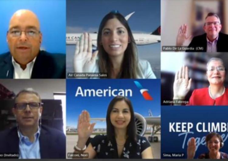 Asociación de Líneas Aéreas de Panamá juramenta a su nueva junta directiva