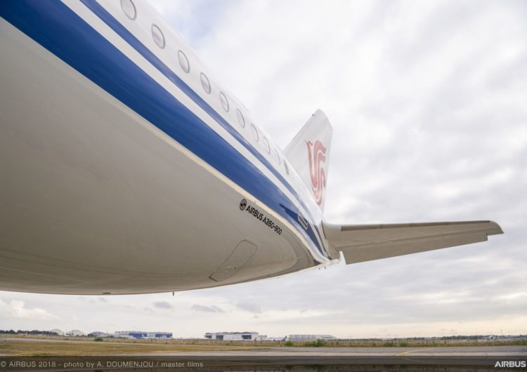 Air China comprará 18 aviones Airbus