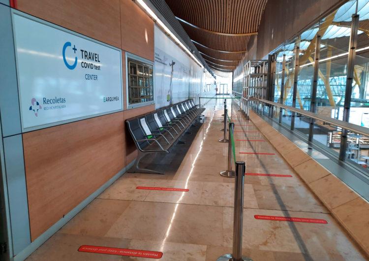España: Abren las primeras clínicas de pruebas Covid-19 en aeropuertos de Aena