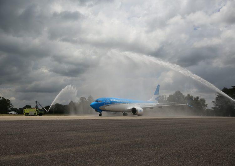 Aerolíneas Argentinas reactiva un tercer Boeing 737 MAX