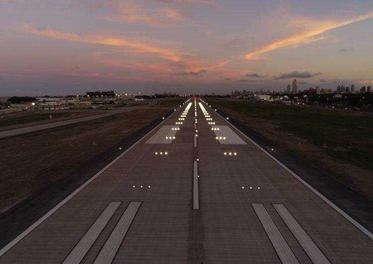 La nueva pista de Aeroparque, premiada por la Asociación Argentina de Carreteras