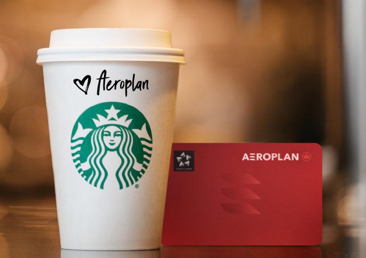 Air Canada anuncia la asociación de su programa de lealtad y Starbucks Canada