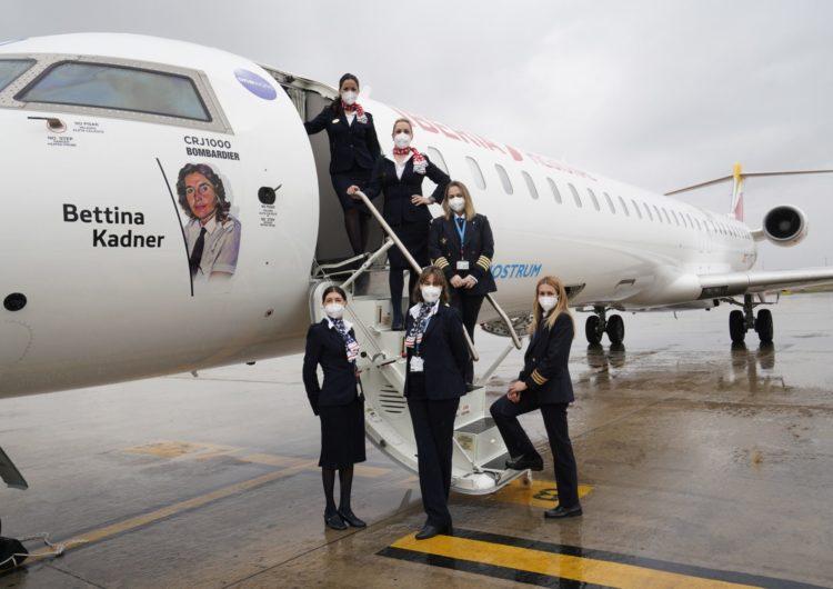 Air Nostrum homenajea a las mujeres en la aviación