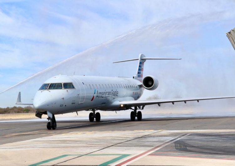 American Airlines inicia operaciones en Culiacán y reinicia Mazatlán