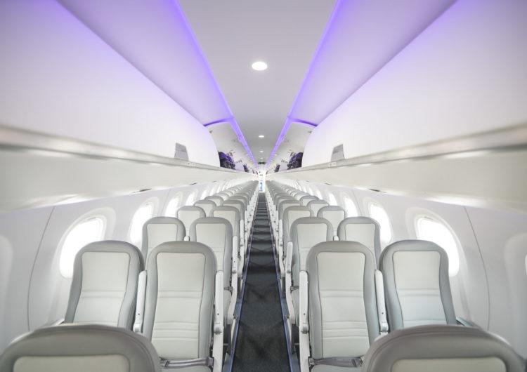 Embraer publica guía técnica de desinfección de aeronaves comerciales
