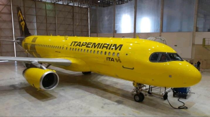Itapemirim, nueva aerolínea brasileña, suma su tercer A320 mientras aguarda por su certificación