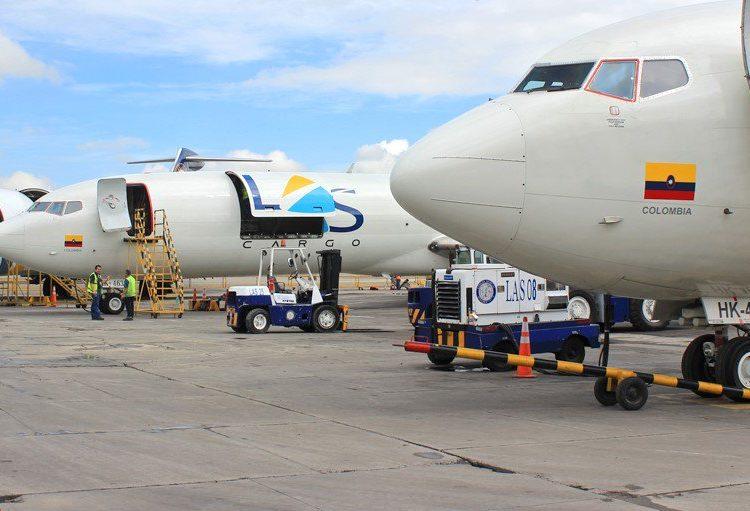 Líneas Aéreas Suramericanas (LAS) realizó sus dos primeros vuelos transportando vacunas