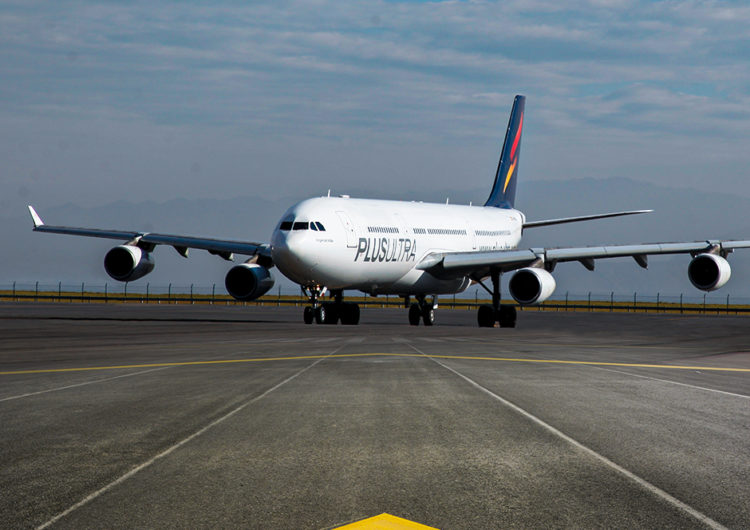 Plus Ultra Líneas Aéreas reinicia sus vuelos entre España y Perú