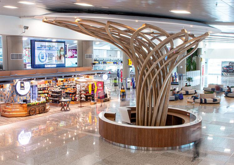 Aeropuerto de Quito inaugura remodelación de áreas públicas
