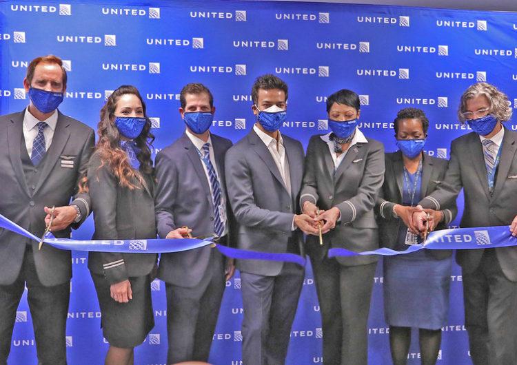 United Airlines reinicia vuelos desde el Aeropuerto JFK de Nueva York