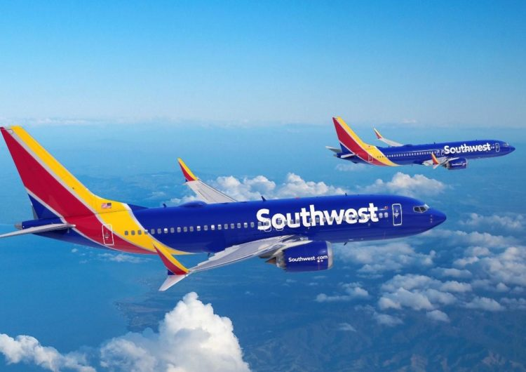 Southwest Airlines hace un pedido de 100 aviones Boeing 737 MAX, además de 155 opciones de compra