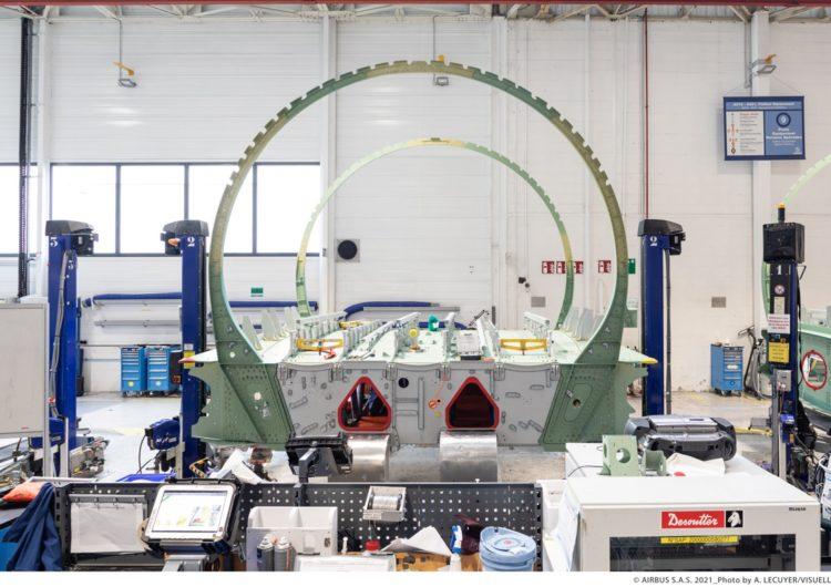 Avanza Airbus en construcción de primer A321XLR