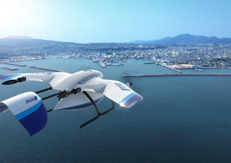 ANA se asocia con Wingcopter para impulsar las entregas con drones
