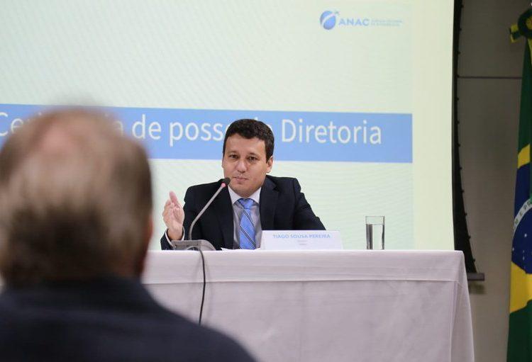 Tiago Pereira assume mandato como dirigente da ANAC