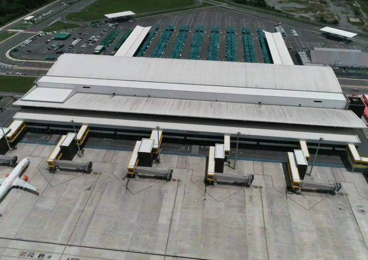 Aeroporto de Vitória inicia uso de drones para inspeção do aeródromo