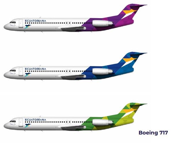 Ecuatoriana Airlines presentó sus planes de operación e imagen