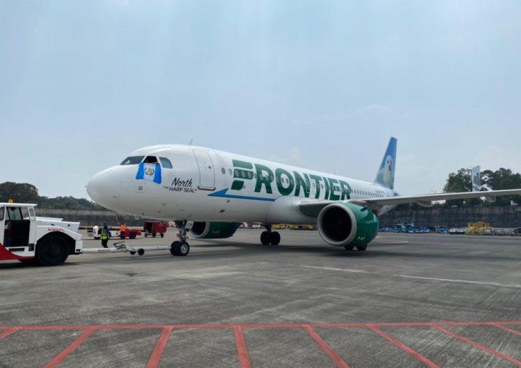 Frontier Airlines inauguró sus vuelos entre Miami y Ciudad de Guatemala