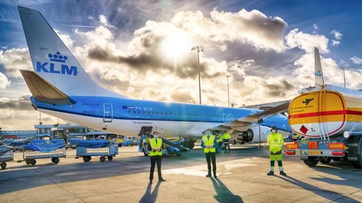 KLM comparte sus iniciativas en materia de sustentabilidad