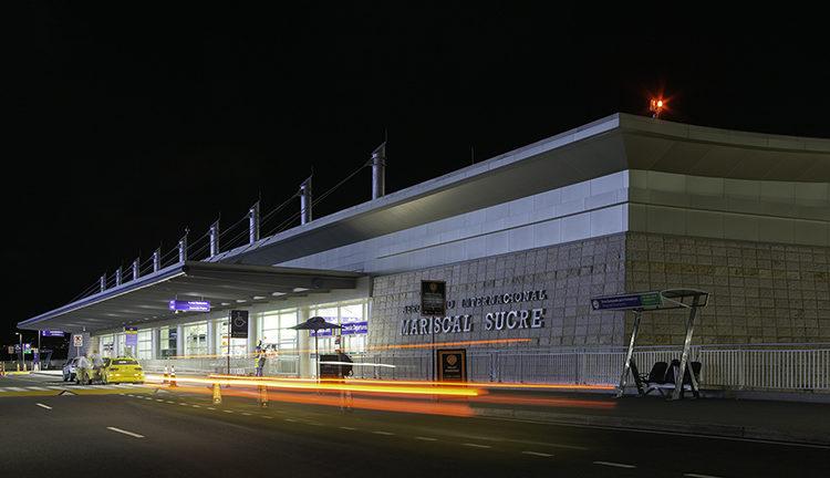 Ecuador: Las operaciones aéreas durante el estado de excepción se mantendrán abiertas en el Aeropuerto de Quito
