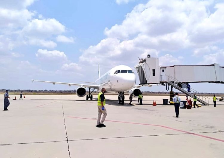 Sky High Dominicana inauguró sus vuelos a Valencia, Venezuela
