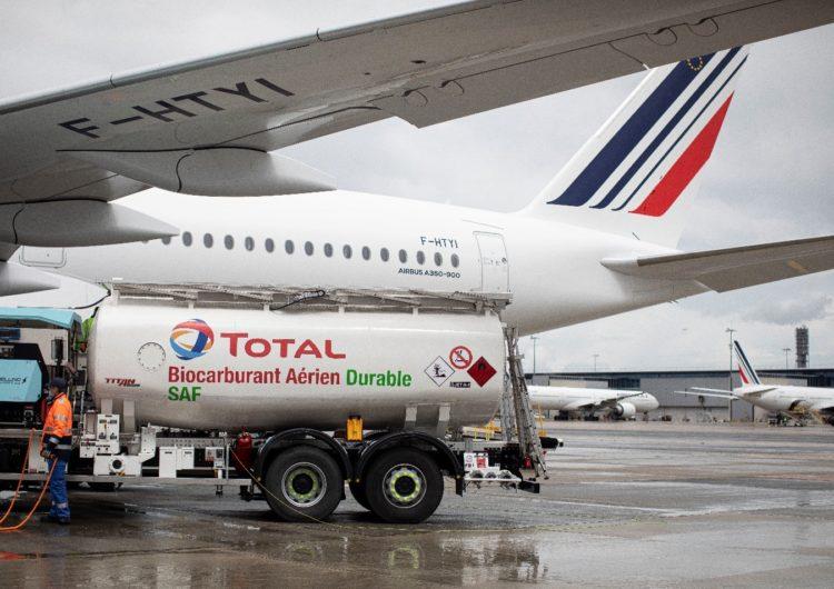 Air France KLM realiza el primer vuelo de larga distancia con combustible de aviación sostenible (SAF) producido en Francia
