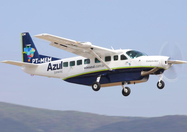 Azul conecta incorpora dos Cessna 208 Grand Caravan EX