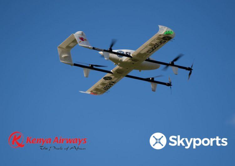 Kenya Airways busca lanzar un servicio de entregas a través de drones en África oriental