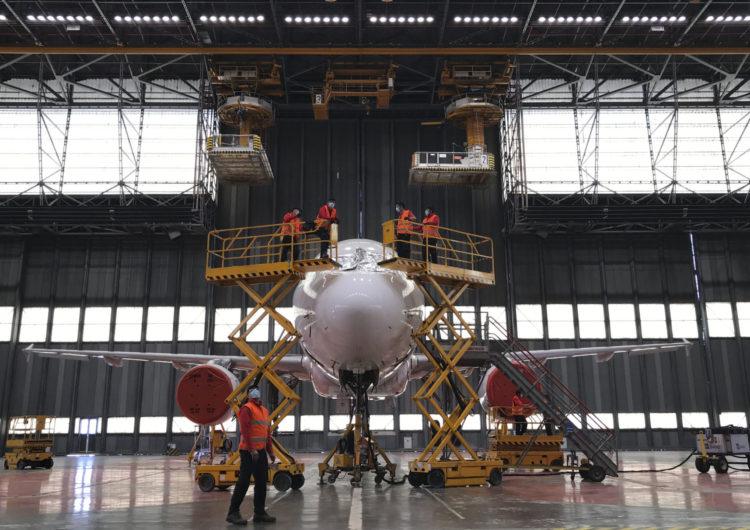 Iberia Mantenimiento prepara la puesta en vuelo de 29 aviones del Grupo Iberia