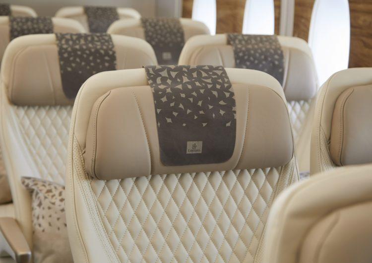 Emirates presentará sus nuevos asientos Premium Economy