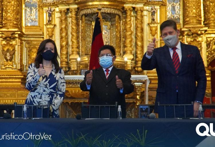 Quito fortalece su promoción turística con aerolínea ecuatoriana
