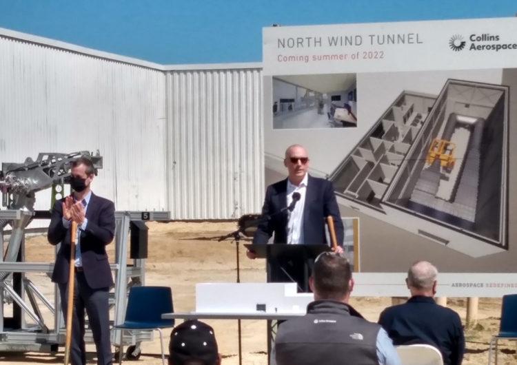 Collins Aerospace construye un túnel de viento para probar las turbinas Ram Air
