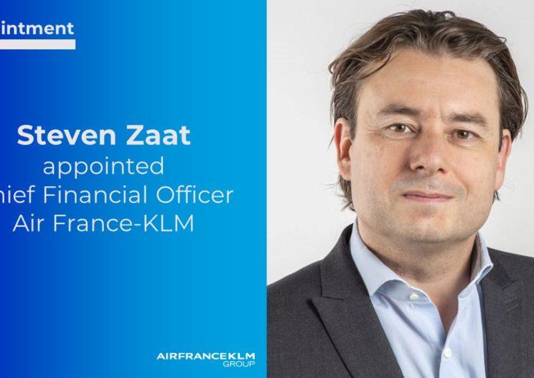 Steven Zaat, nuevo director financiero de Air France-KLM