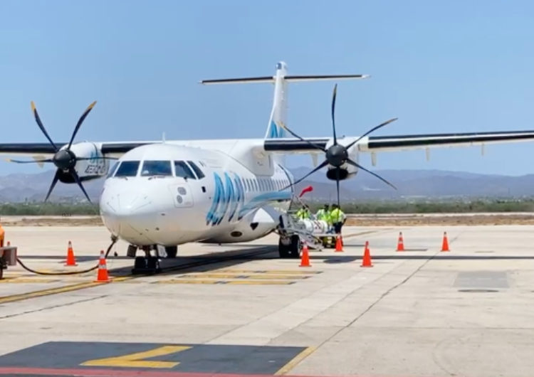 México: Aeromar brinda ruta de Guadalajara-Mazatlán-La Paz, en su segunda etapa