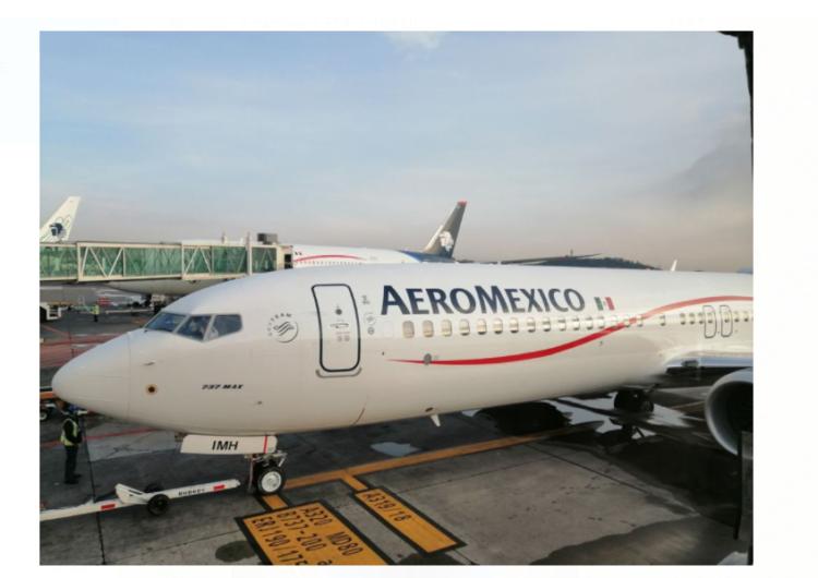 Estrena Aeroméxico sus primeros Boeing 737 MAX 9