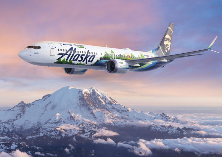 Boeing y Alaska Airlines colaboran para que volar sea más seguro y más sostenible