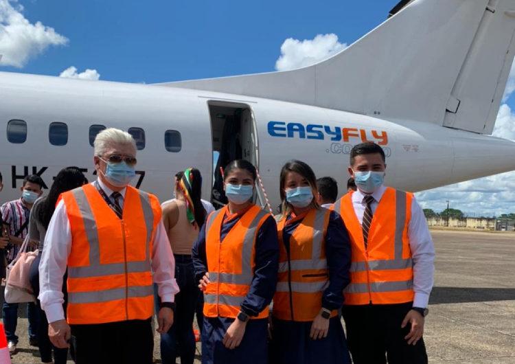 Easyfly inició sus operaciones a San Jose Del Guaviare